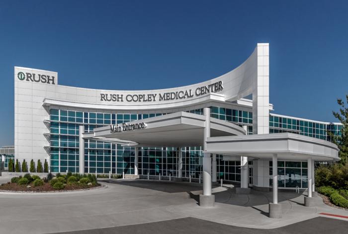 Rush Copley Medical Center - New Main Entry & Surgical Expansion - 0
