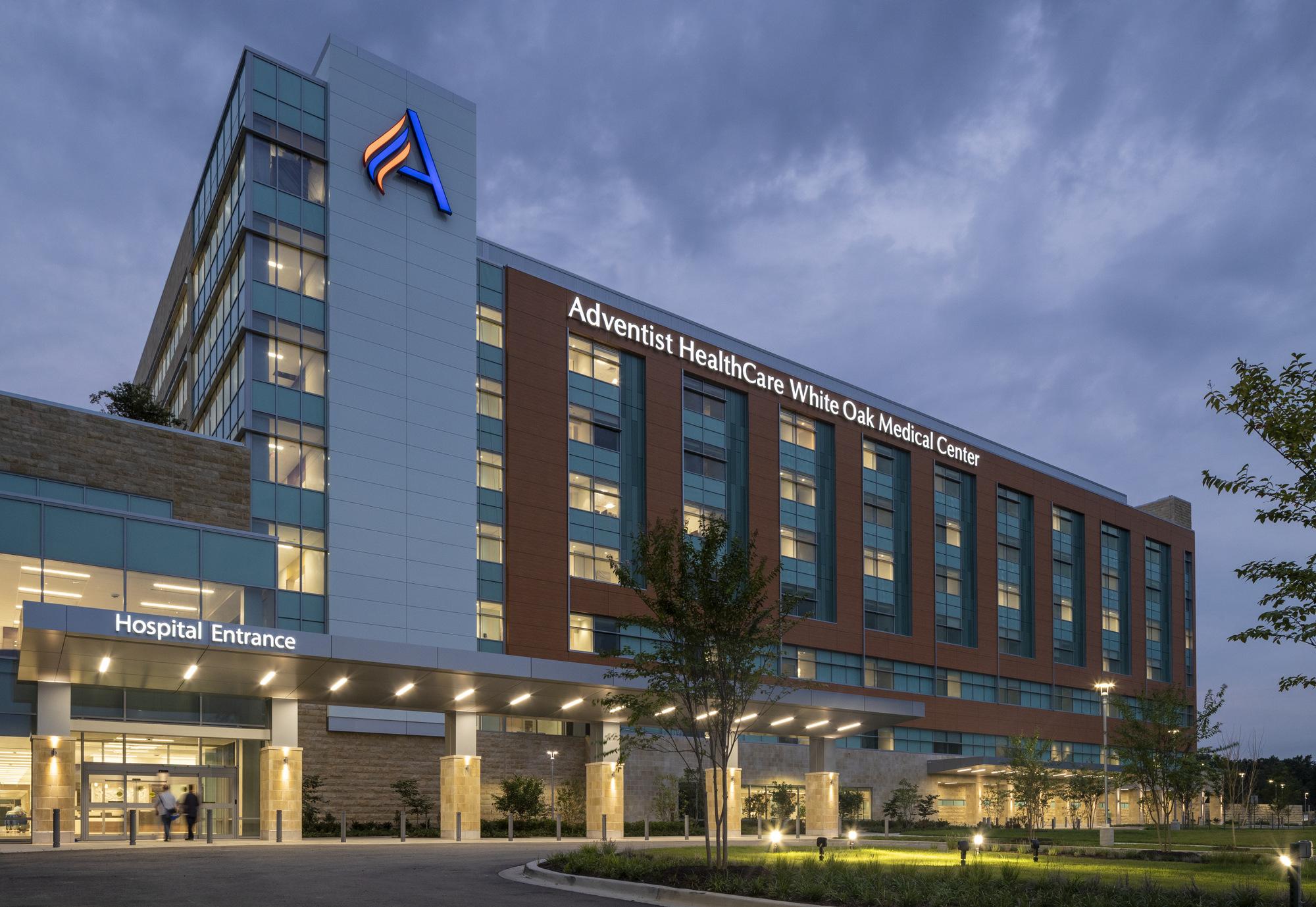 Washington Adventist White Oak Medical Center Healthcare Snapshots